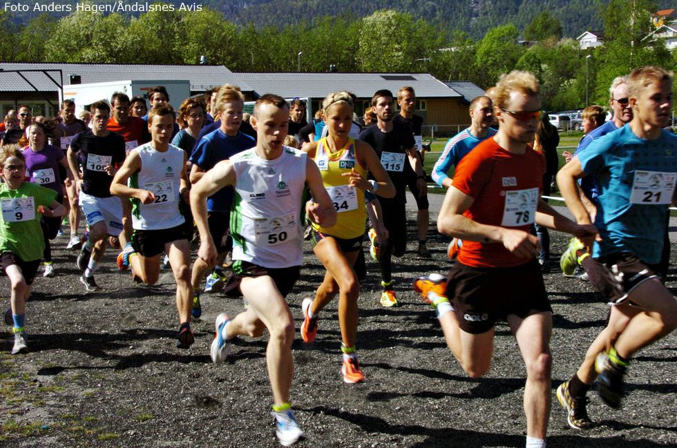 Strålende Åndalsnesløpet 2013